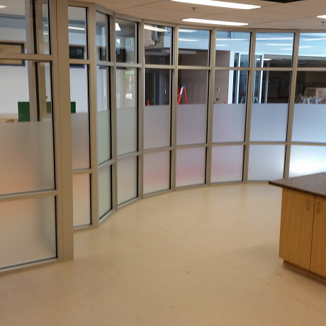Privacy Film can enhance the look of any office .